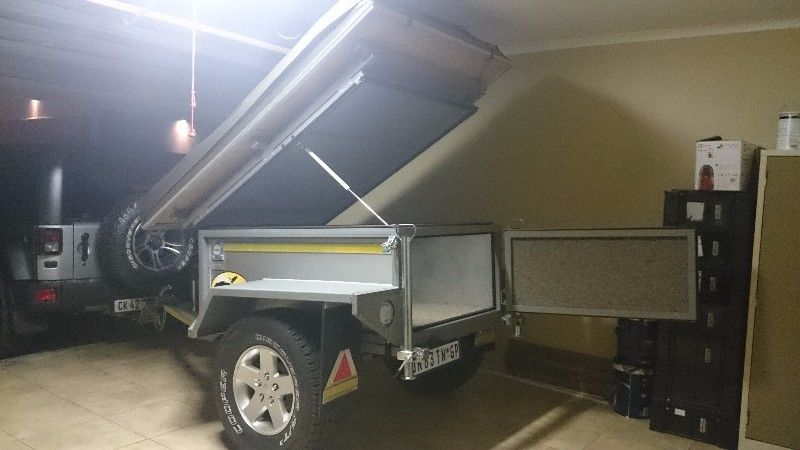 Off Road Trailers For Sale Used >> For Sale Bush Nest Tinktinkie Off Road Trailer With Bush Tech Tent