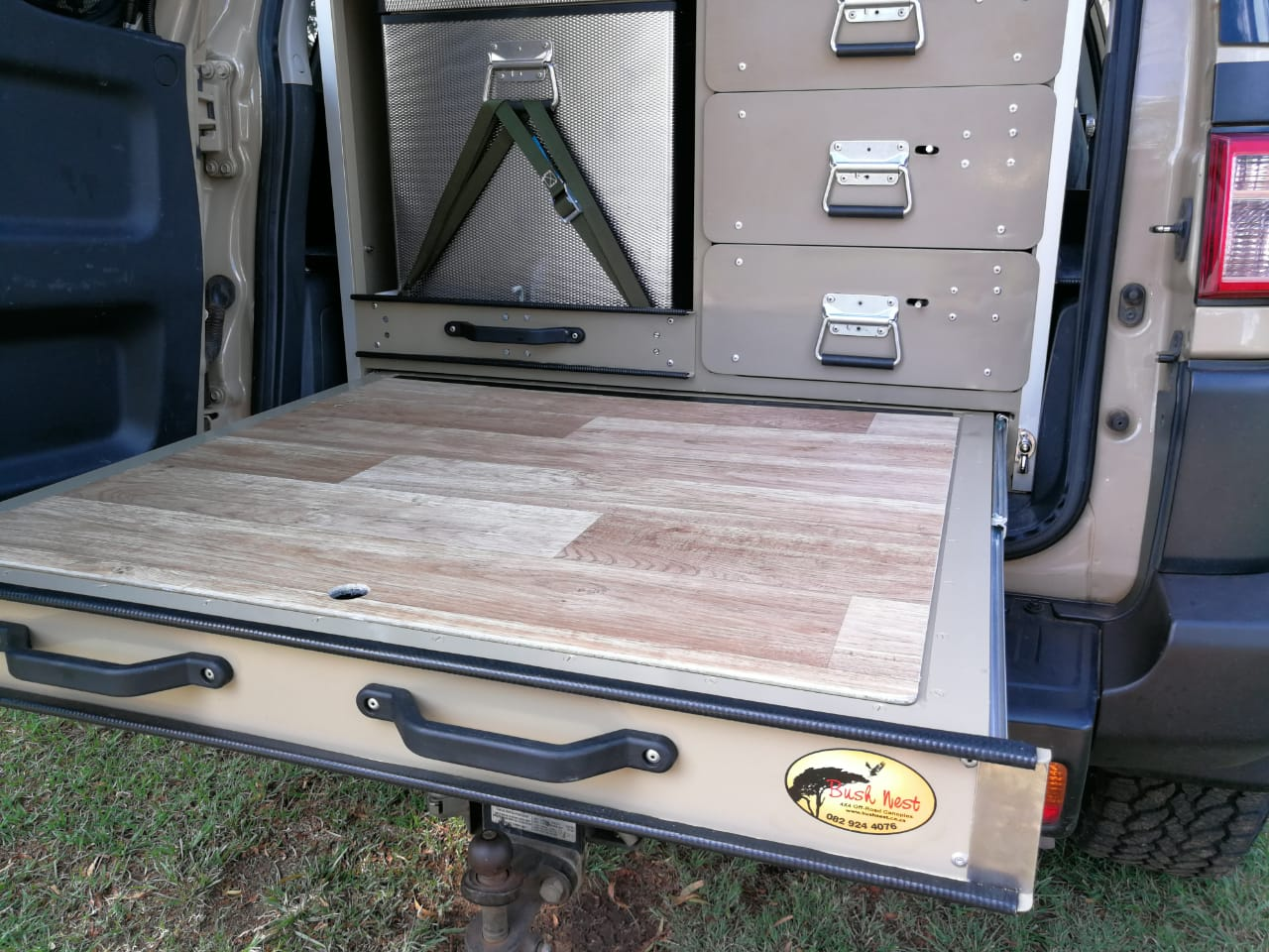 Drawer Systems | Bush Nest 4×4 Trailers